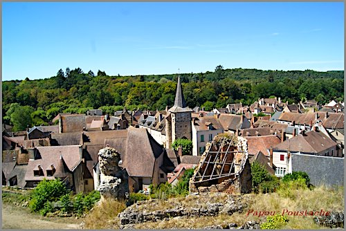 Eglise Saint-Sauveur in the heart of the village of Herisson