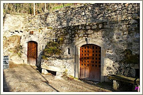 Les Grottes de Perrier - Restored cellars
