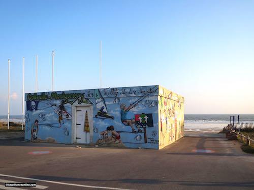 Colleville-Montgomery Beach today - Juno Beach