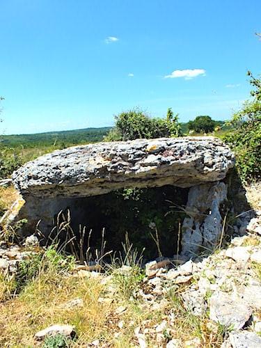 Dolmen du Pech-Laglayre no1 in Grealou