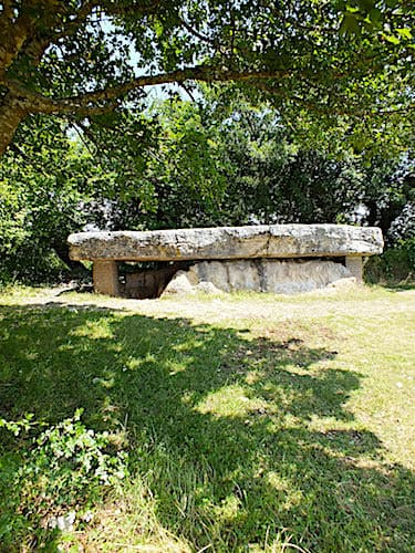 Dolmen de la Pierre Martine - the largest dolmen in Lot