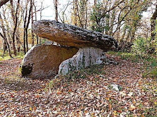 Dolmen Marie-Gaillard in Martiel - Aveyron