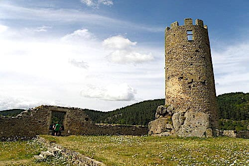Keep of the Castle of Chalencon
