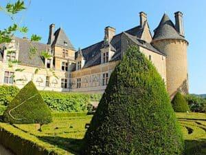 Chateau de Montal - Renaissance facades and seen from the formal garden