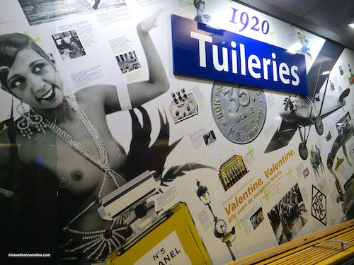 Tuileries Metro station - Years 1920