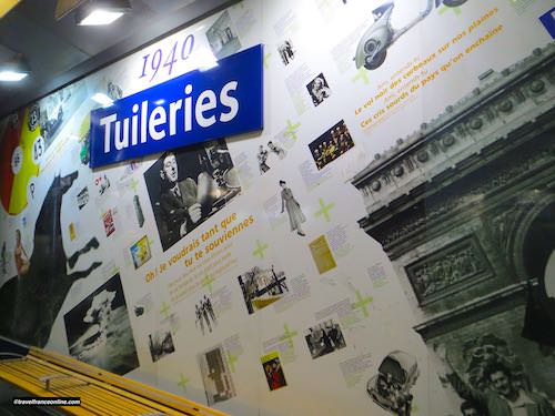 Tuileries Metro station - Years 1940