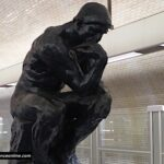 Varenne Metro station - The Thinker by Rodin