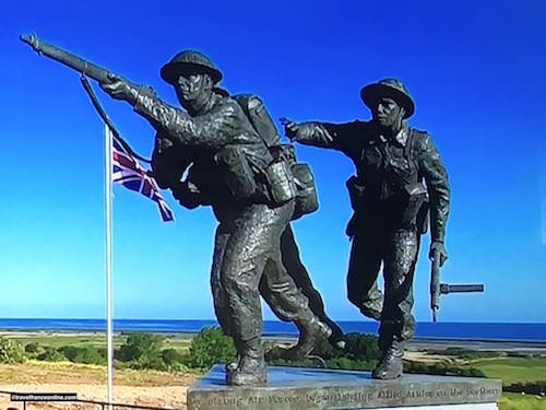 D-Day 75th Anniversary Commemorations - British Normandy Memorial in Ver-sur-mer - Gold Beach