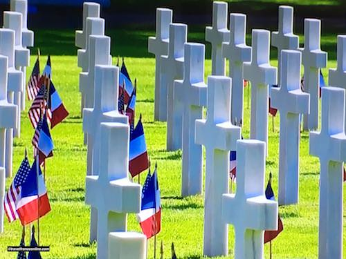D-Day 75th Anniversary Commemorations - Colleville-sur-mer American Cemetery - 7 June 2019