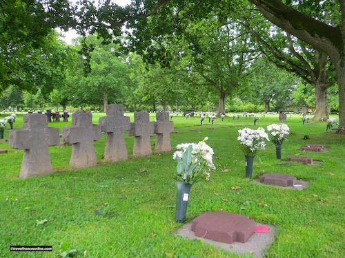 D-Day 75th Anniversary Commemorations - La Cambe German War Cemetery