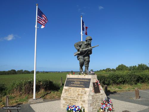 D-Day 75th Anniversary Commemorations - Major Richard D. Winters Memorial near Utah Beach