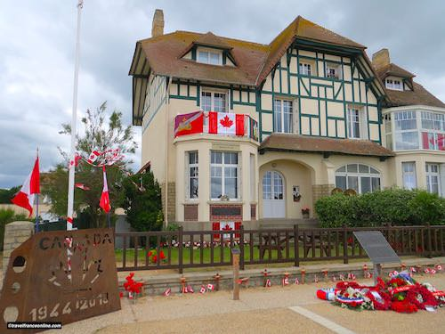 D-Day 75th Anniversary Commemorations - Villa Cassine in Bernières-sur-mer - Juno Beach