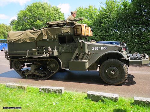 D-Day 75th Anniversary Commemorations - military vehicle
