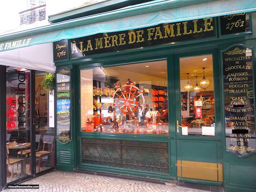 A La Mère de Famille in Rue Montorgueil