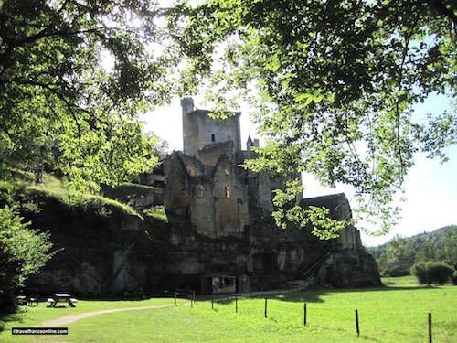 Commarque Castle