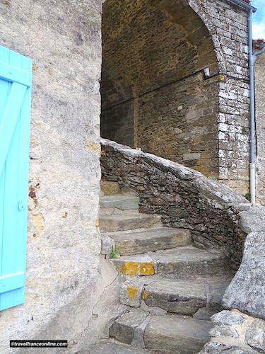 Castle of Apremont fortified entrance