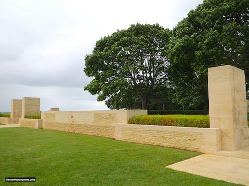 Beny-sur-mer Canadian war cemetery main entrance