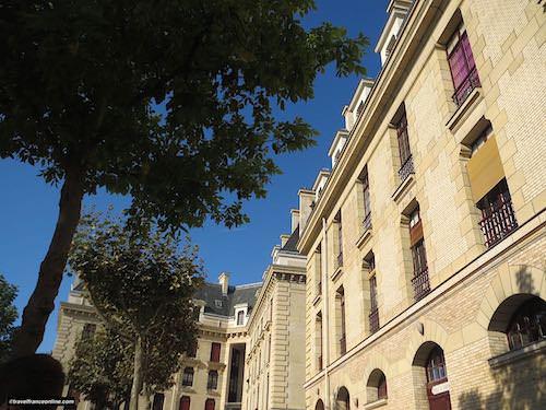 Garde Republicaine - Staff quarters