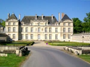 Chateau de Raray, a superb illustration of French Classical
