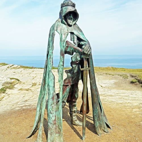 Arthurian Legend - King Arthur in Tintagel - Cornwall