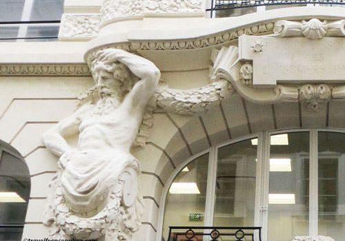 Atlantes Engaines - sculptures