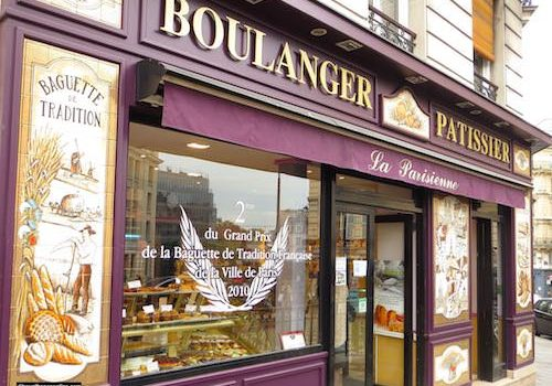 Bread in one of the Parisian baker shops