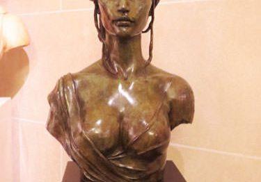 Bust of Marianne - Laetitia Casta in 2000