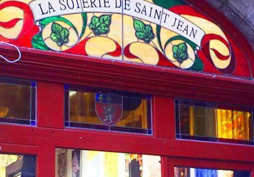 One of the Silk shops where the Canuts Lyonnais sold their silk