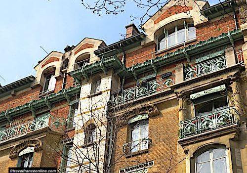 Castel Beranger - Detail facade