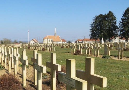 Cerny-en-Laonnois French War Cemetery and Memorial Chapel