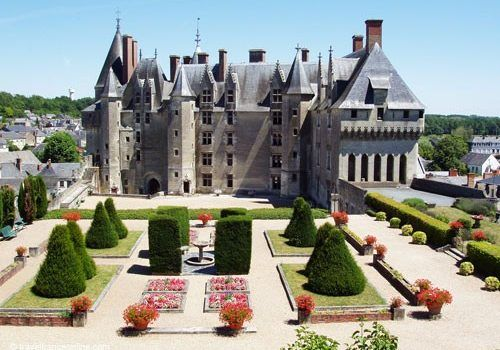 Chateau de Langeais and formal gardens