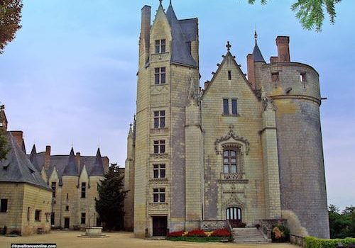 Chateau de Montreuil Bellay in the Loire Valley
