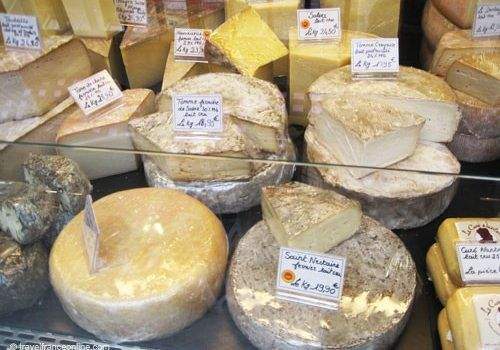 Cheeses shop - Fromagerie