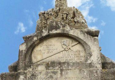 Cross of Bohemia - Battle of Crecy en Ponthieu