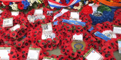 Wreaths laid on the occasion of D-Day 75th Anniversary Commemorations