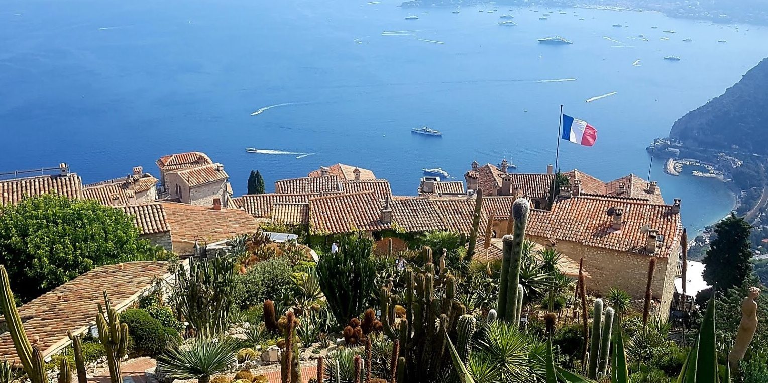 Eze village on the French Riviera