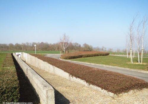 La Royere - Concrete trench