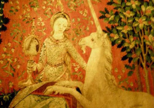 Chateau de Boussac - Lady and the unicorn