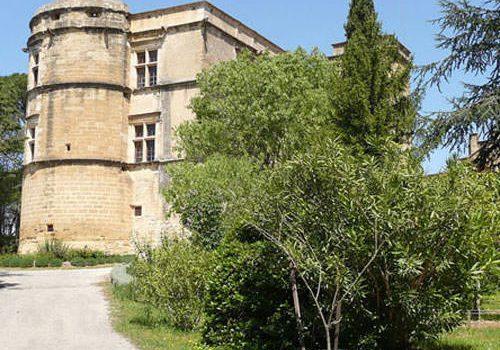 Renaissance castle in Lourmarin