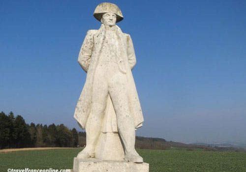 Napoleon statue in Craonne