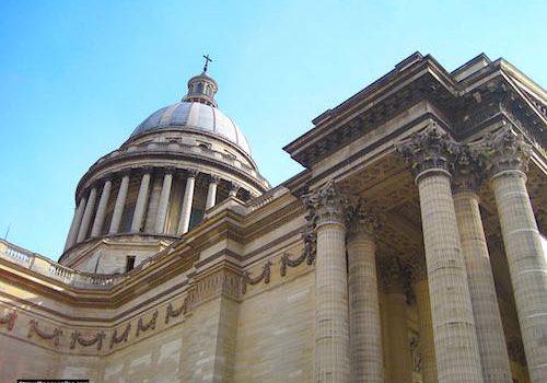 Pantheon of Paris' cupola