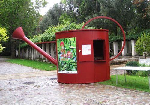 Parc de Bercy - Info booth