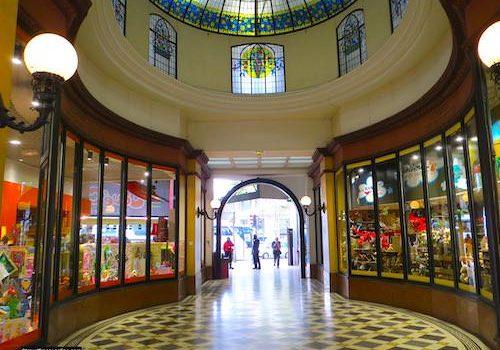 Passage des Princes - Cupola and entrance on Boulevard des Italiens