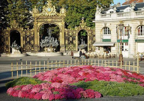 Fountain on Place Stanislas