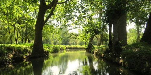Poitevin Marsh waterway