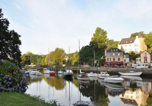 Early morning in Pont-Aven