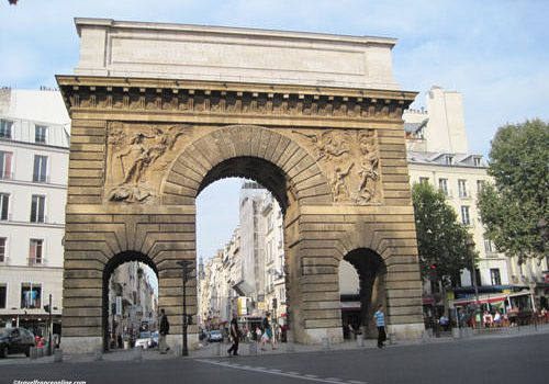 Porte Saint-Martin in Paris
