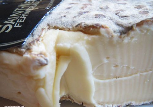 Saint Nectaire Cheese - A creamy texture and orange-grey rind
