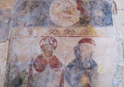 St Martin Chapel Limeuil - murals
