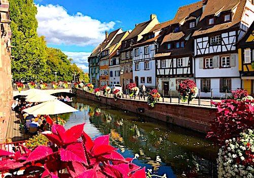 La Petite Venise district in Colmar